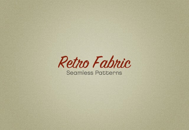 Retro Fabric Patterns