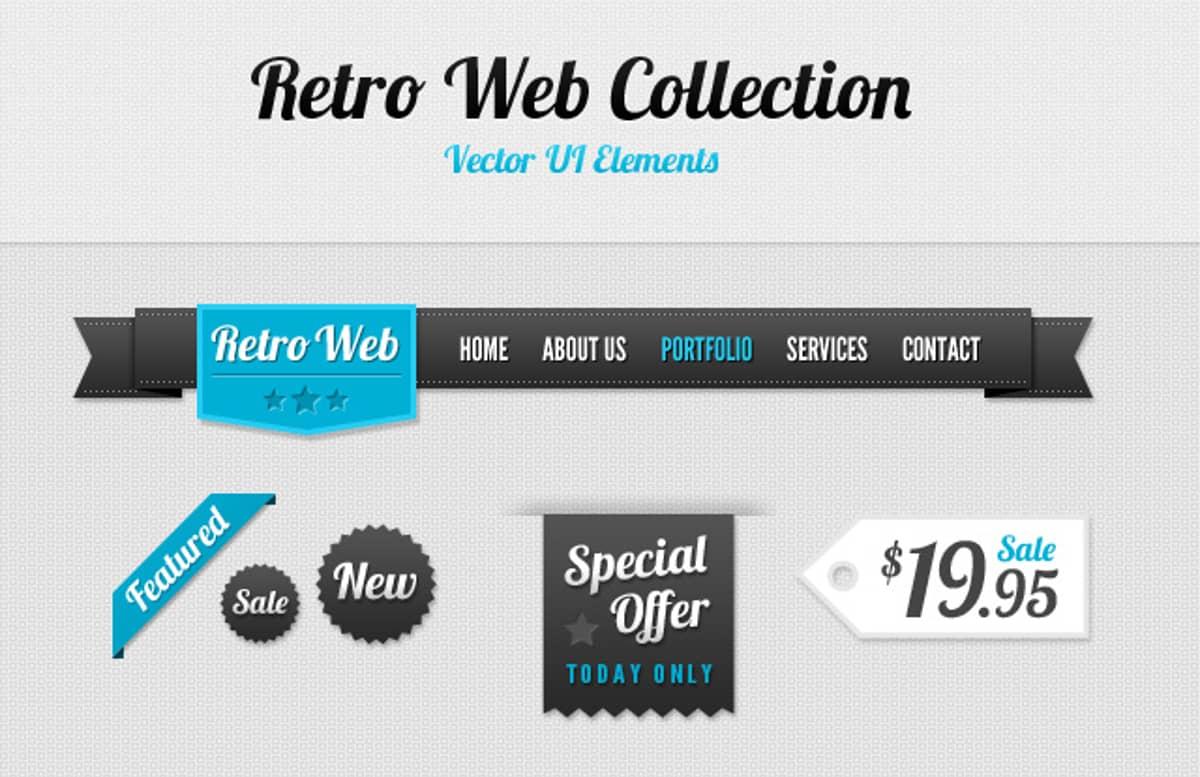 Retro  Web  Collection  Preview1