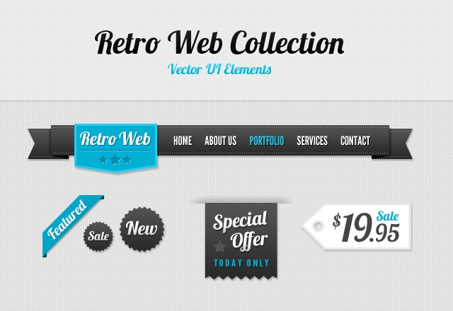 Retro Web Collection