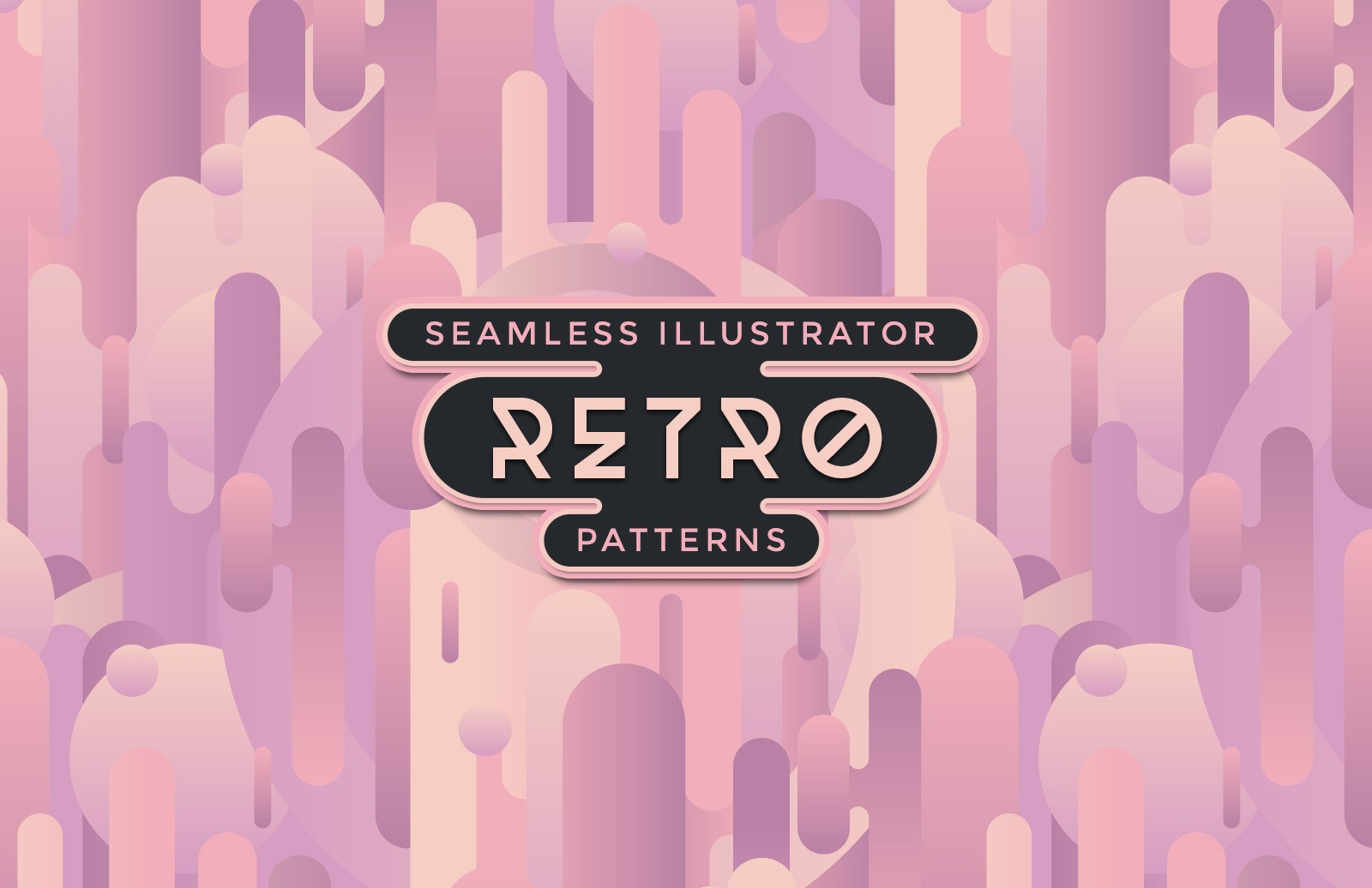 Retro Illustrator Patterns Preview 1