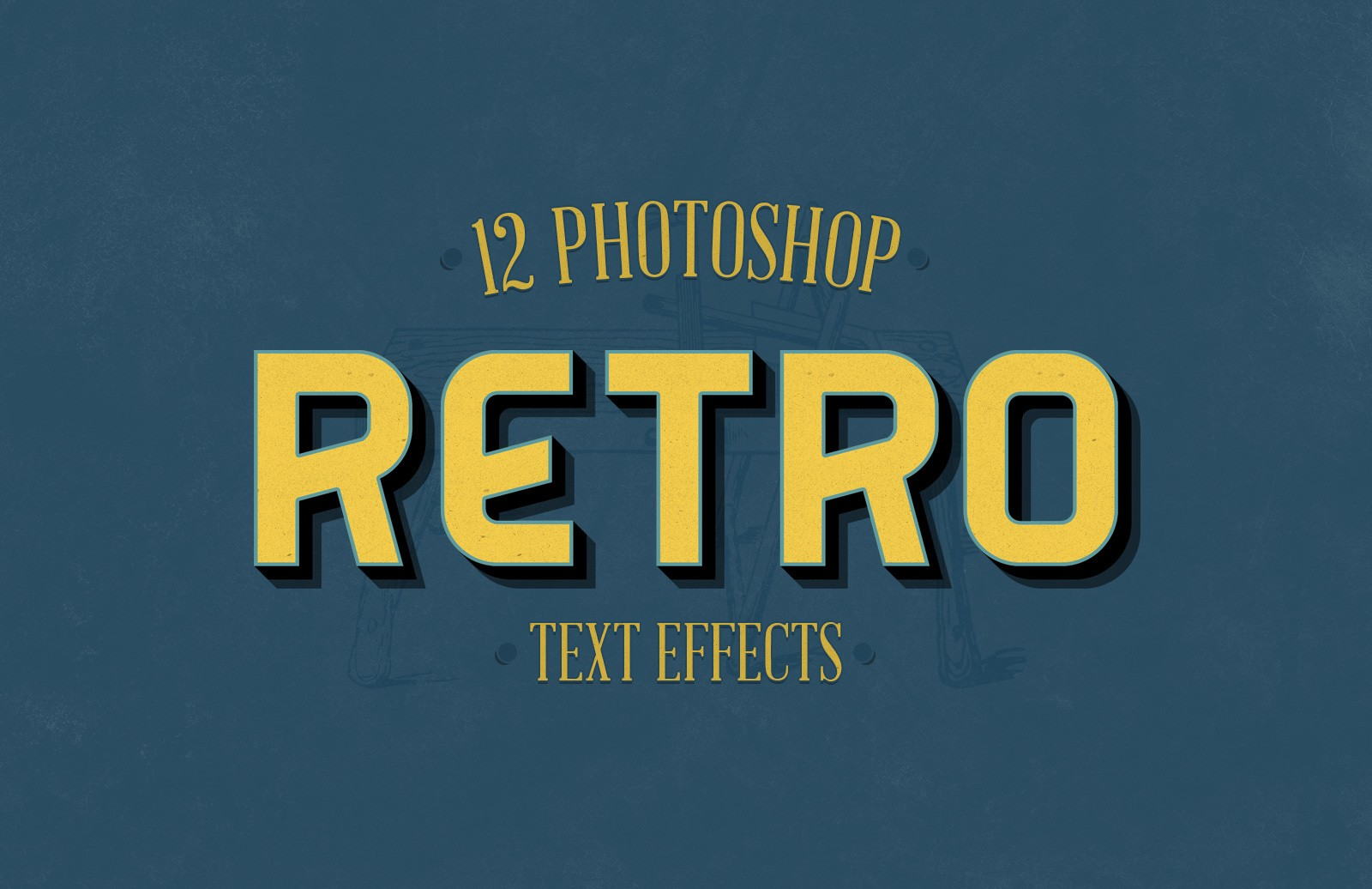 Retro Photoshop Effects Preview 1