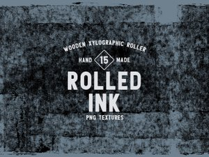 Rolled Ink Textures 1