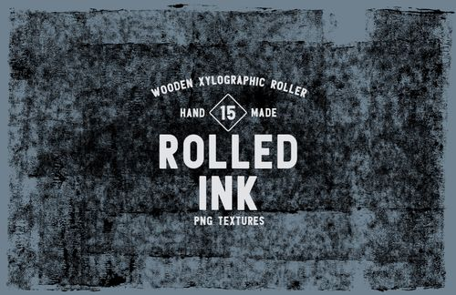 Rolled Ink Textures