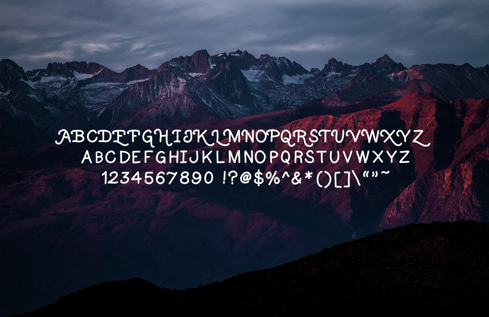 Runaway Handwritten Font