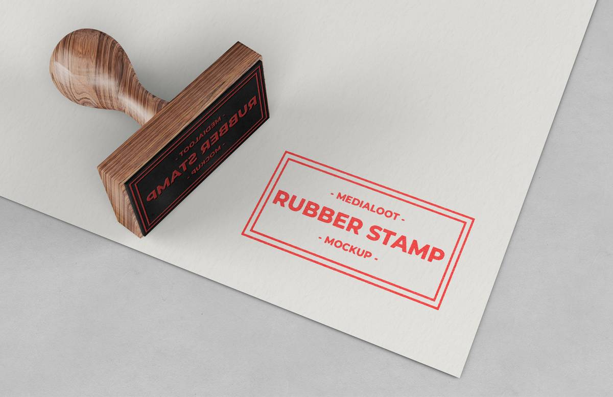 Rubber Stamp Mockup Preview 1