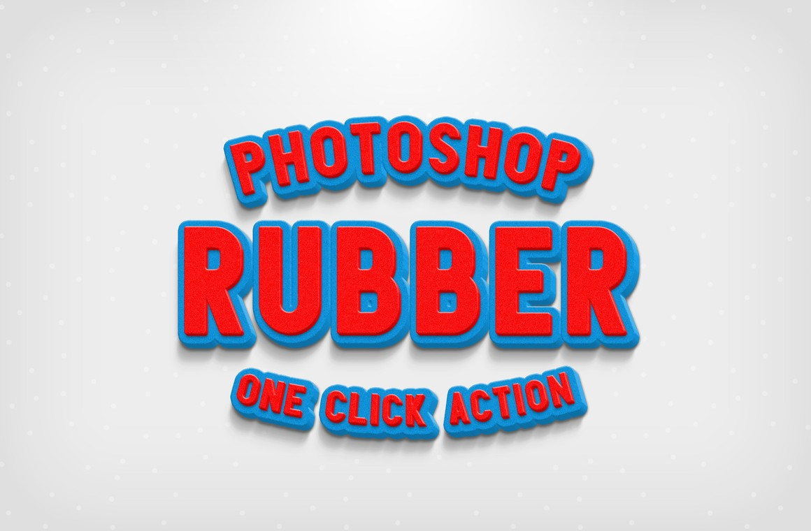 Rubber Photoshop Action