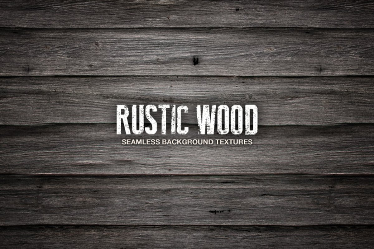 Seamless Rustic Wood Textures Medialoot