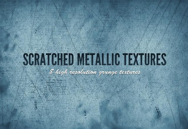 Scratched Metallic Textures