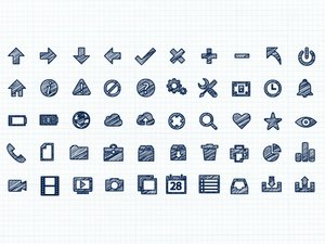 Scribble Vector Icons 1