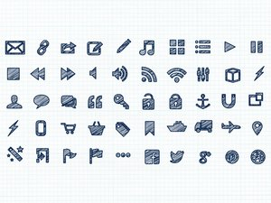 Scribble Vector Icons 2