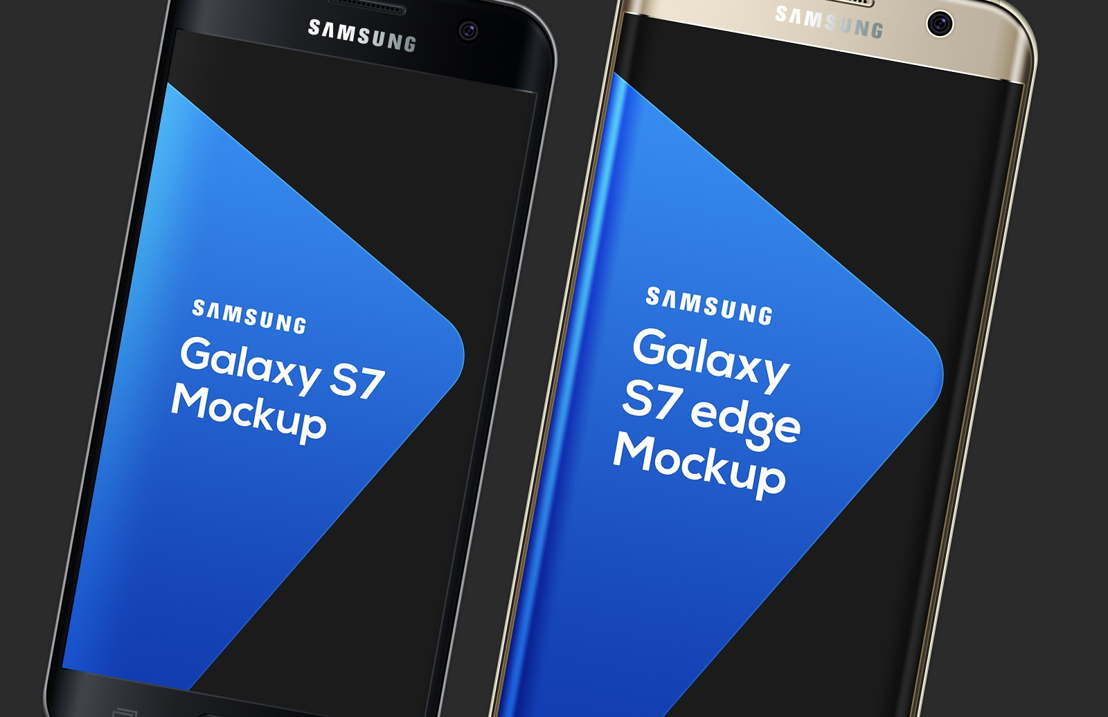 Large Samsung  Galaxy  S7  Mockup  Preview 1