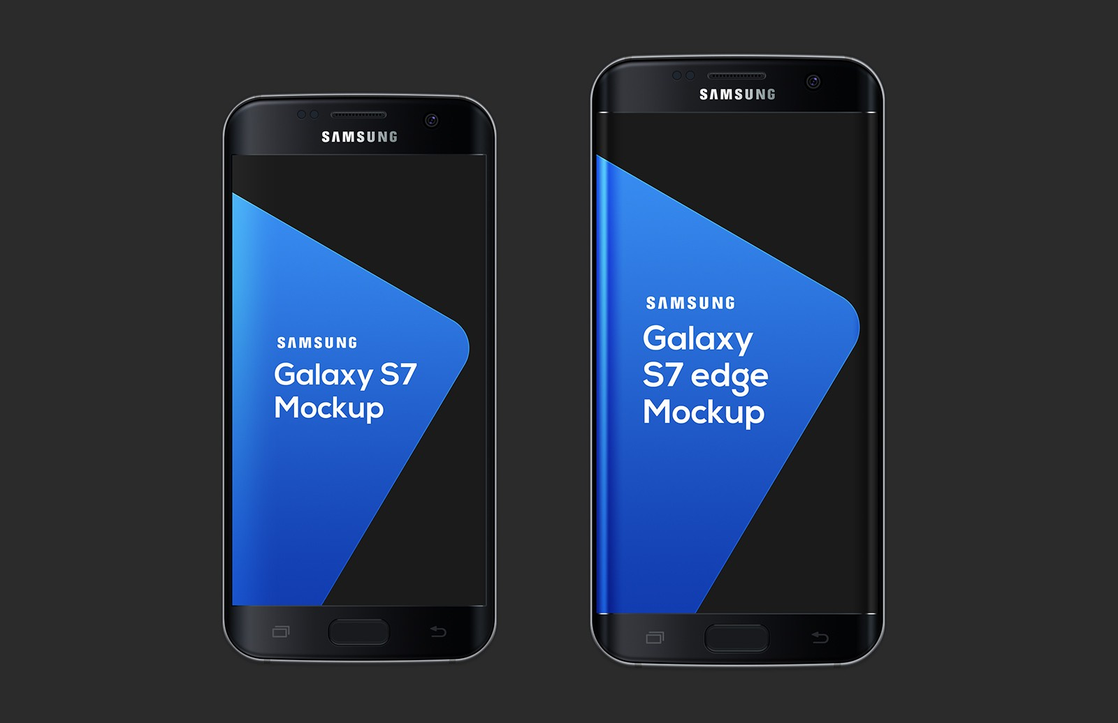 Large Samsung  Galaxy  S7  Mockup  Preview 2