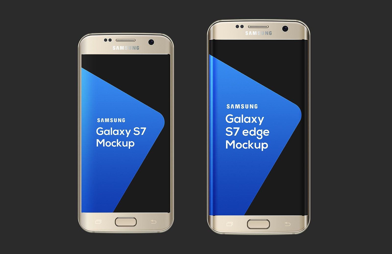 Large Samsung  Galaxy  S7  Mockup  Preview 3