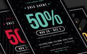 Sale Event Flyer Template