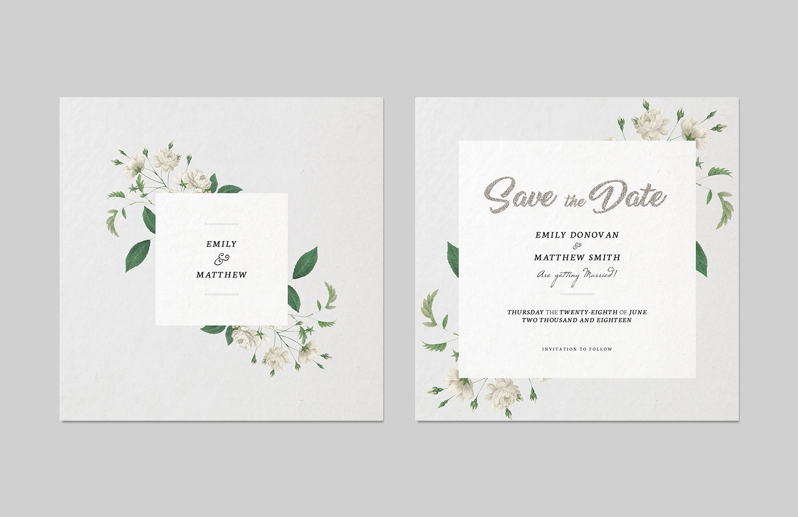 Save The  Date  Invitation  Template  Preview 2