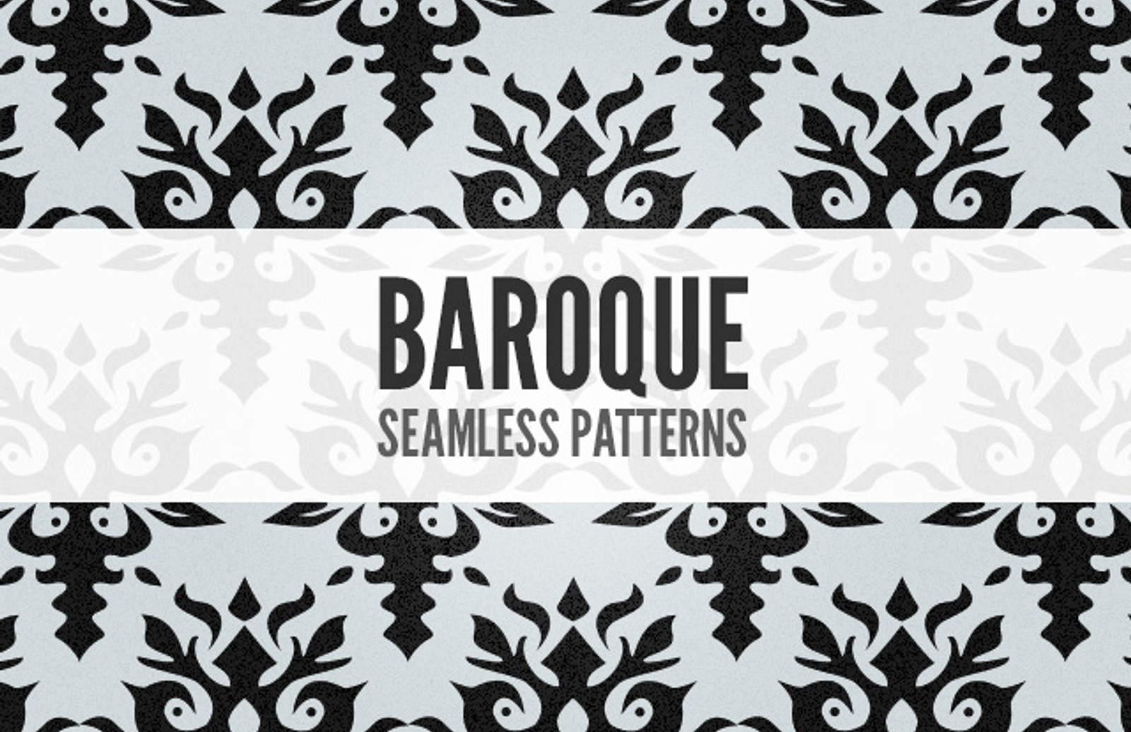 Seamless  Baroque  Patterns  Preview1