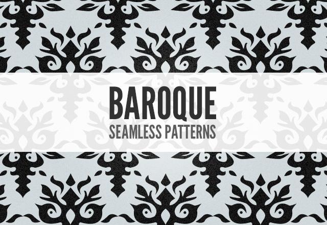 Seamless Baroque Patterns