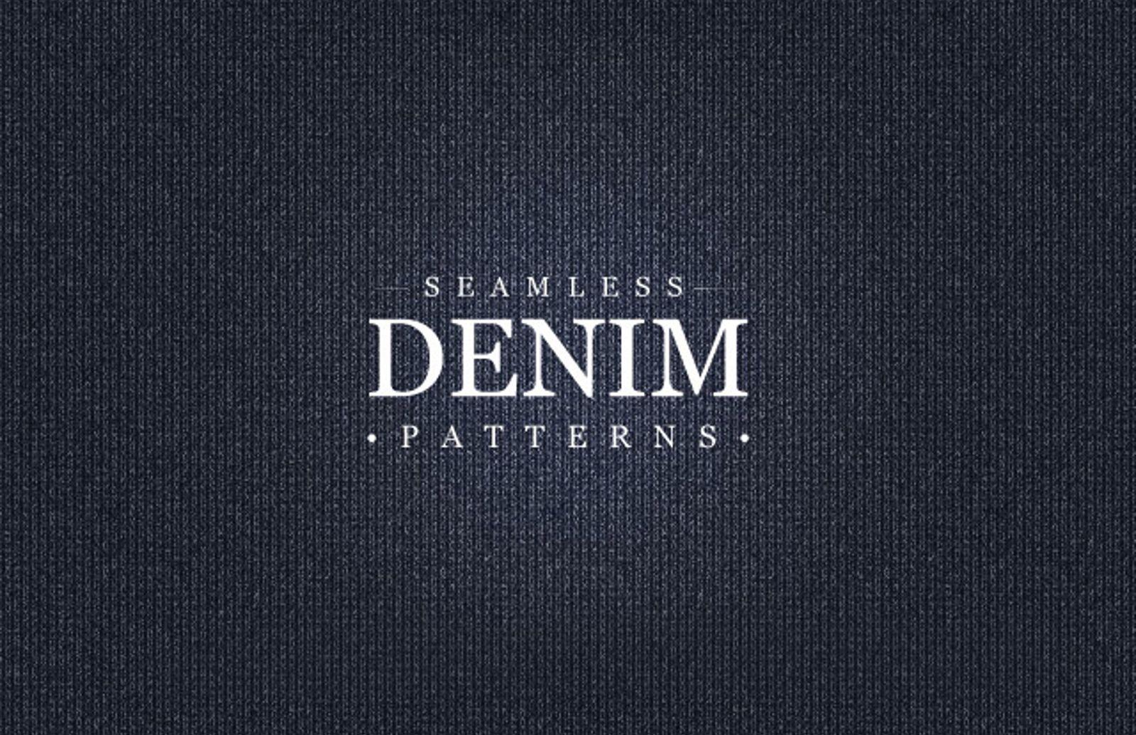Seamless  Denim  Patterns  Preview1
