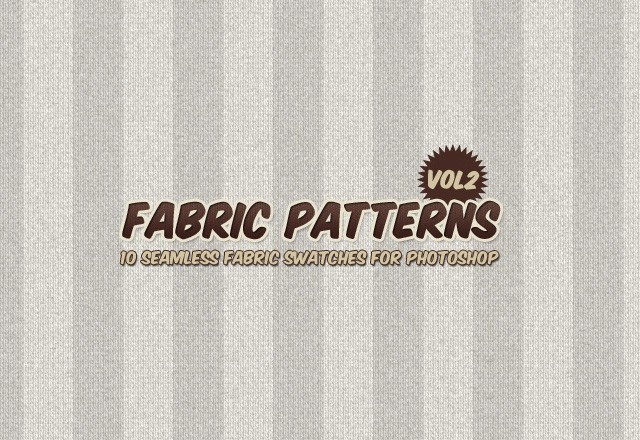 Seamless Fabric Patterns Vol 2