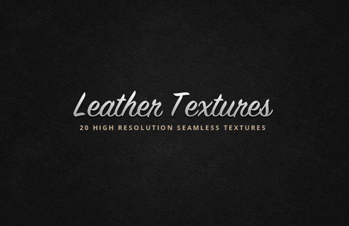 Seamless  Leather  Textures  Preview1A