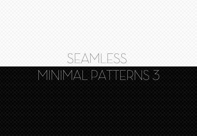 Seamless Minimal Patterns 3