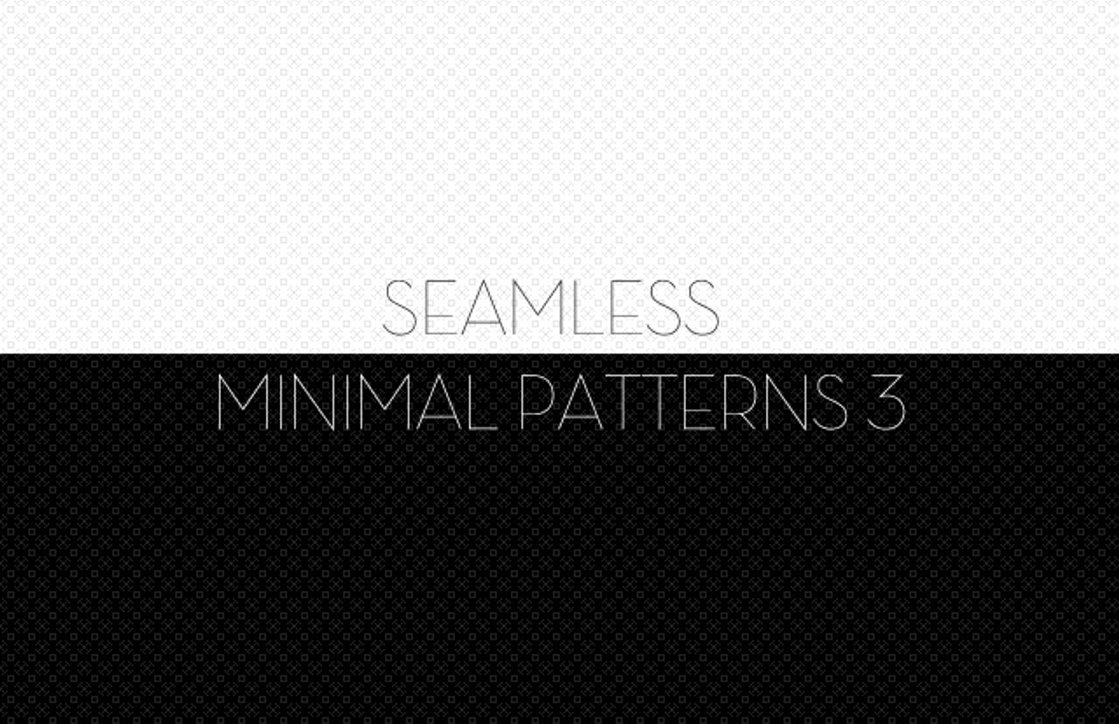 Seamless  Minimal  Patterns 3  Preview1