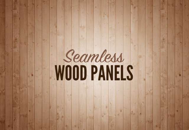 Seamless Wood Panels