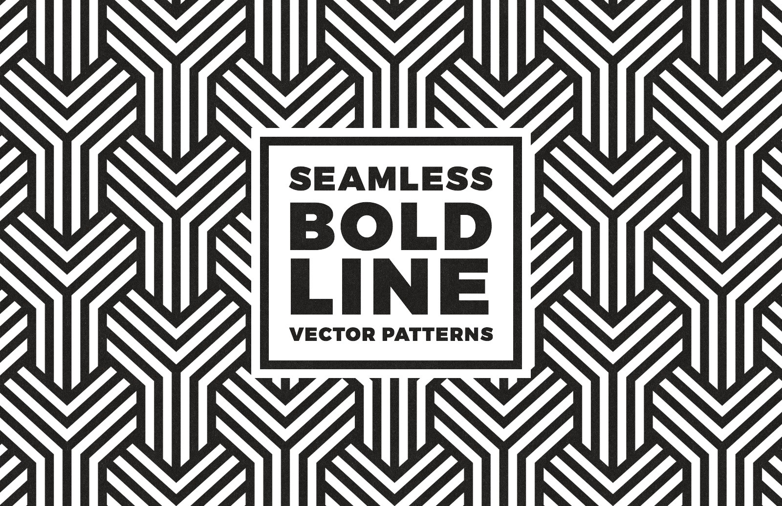 Seamless Bold Line Vector Patterns