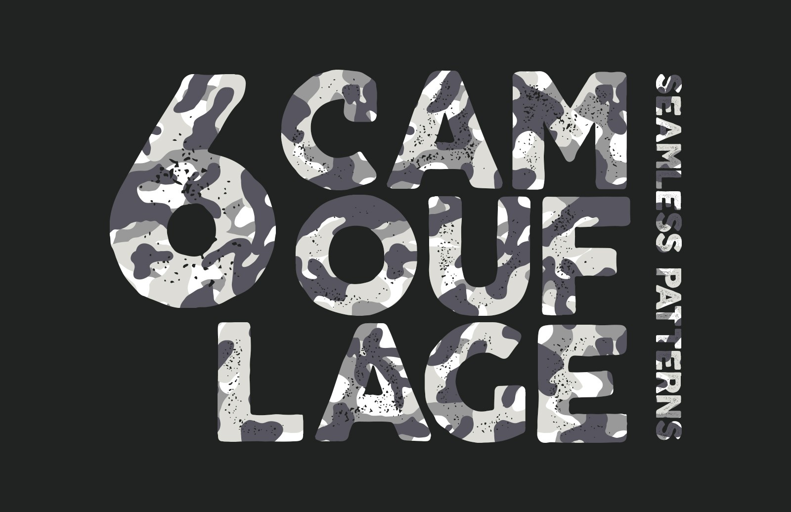 Seamless Vector Camouflage Patterns
