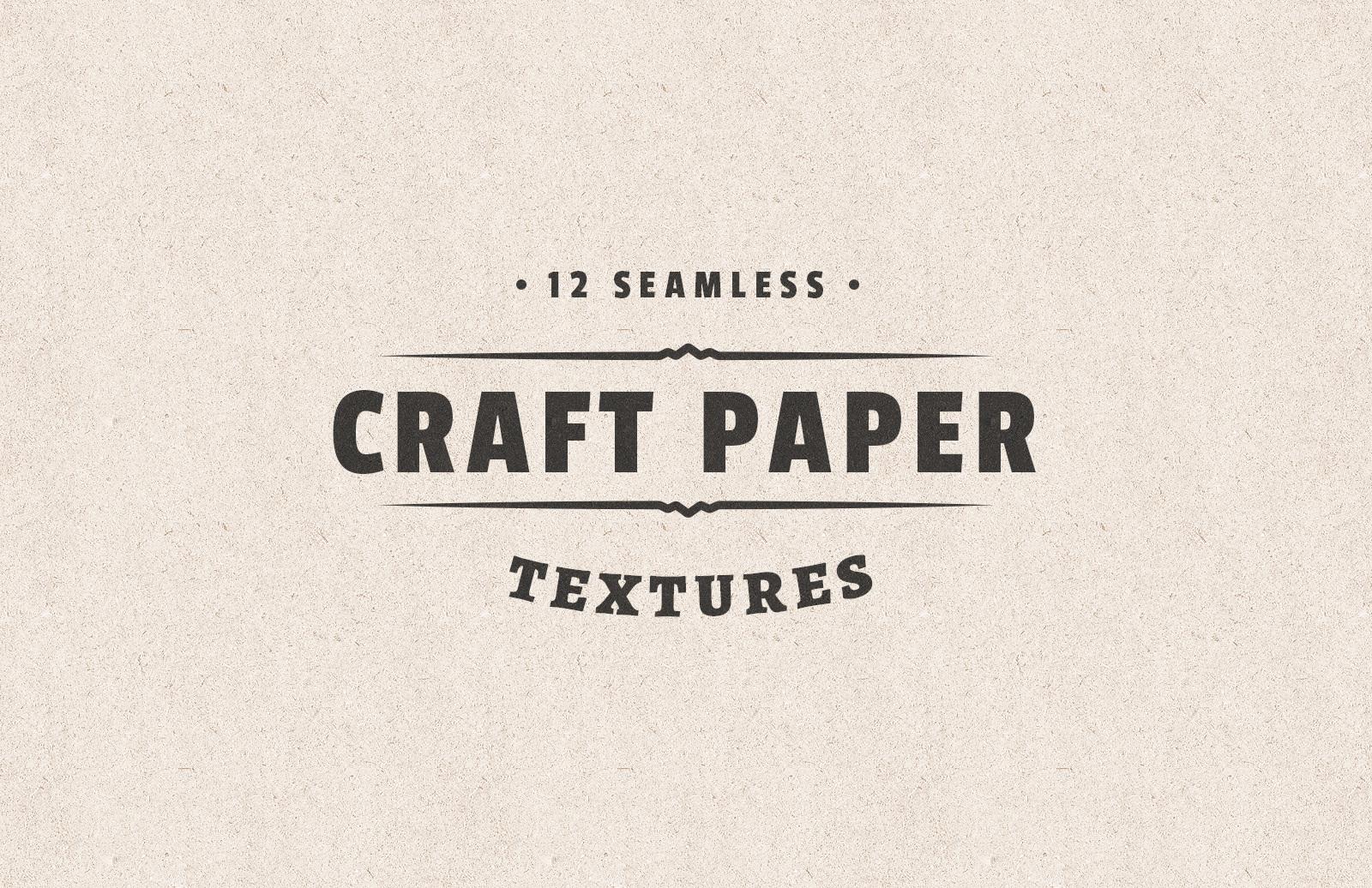 Seamless Craft Paper Textures