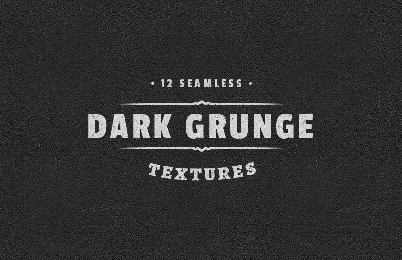 Seamless Dark Grunge Textures