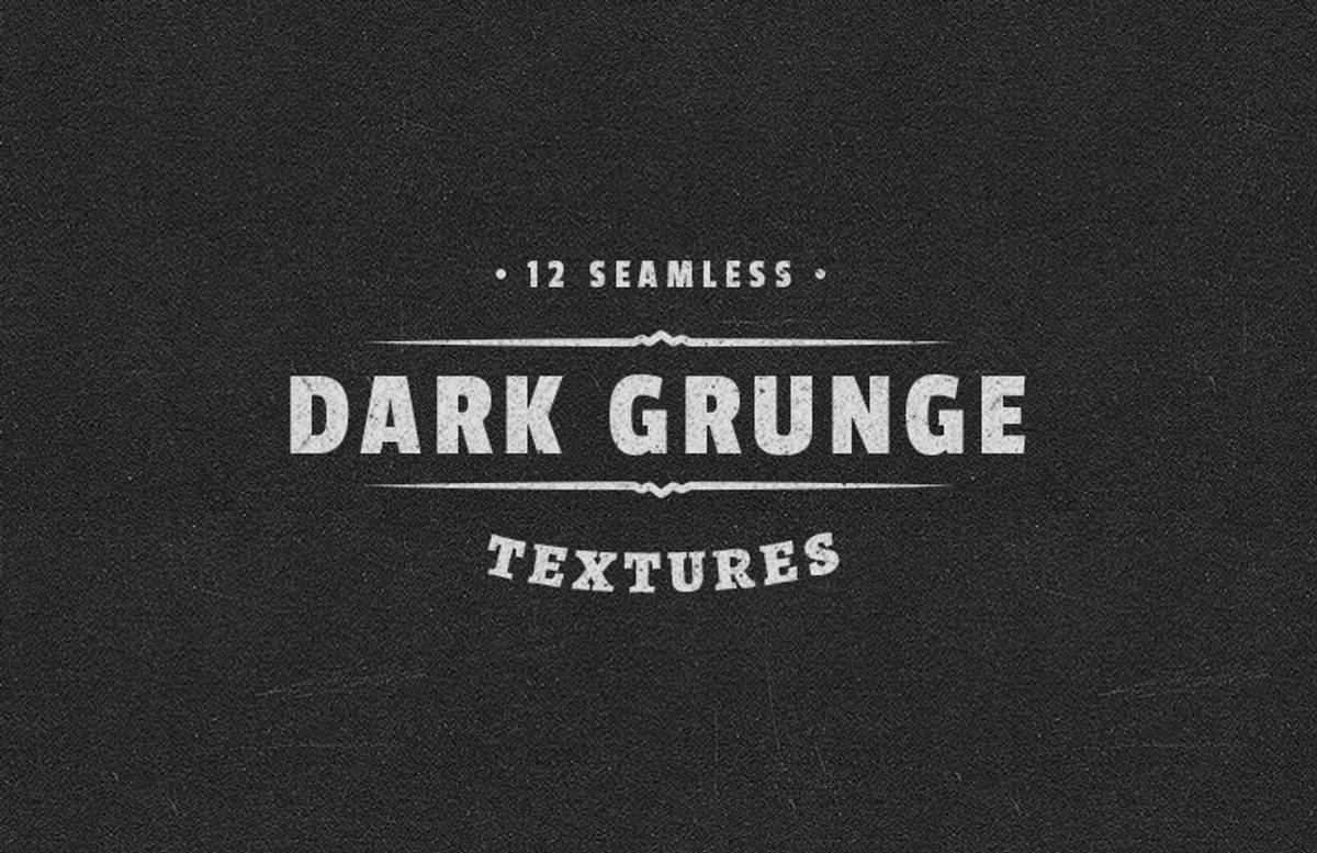 Seamless  Dark  Grunge  Textures  Preview 1