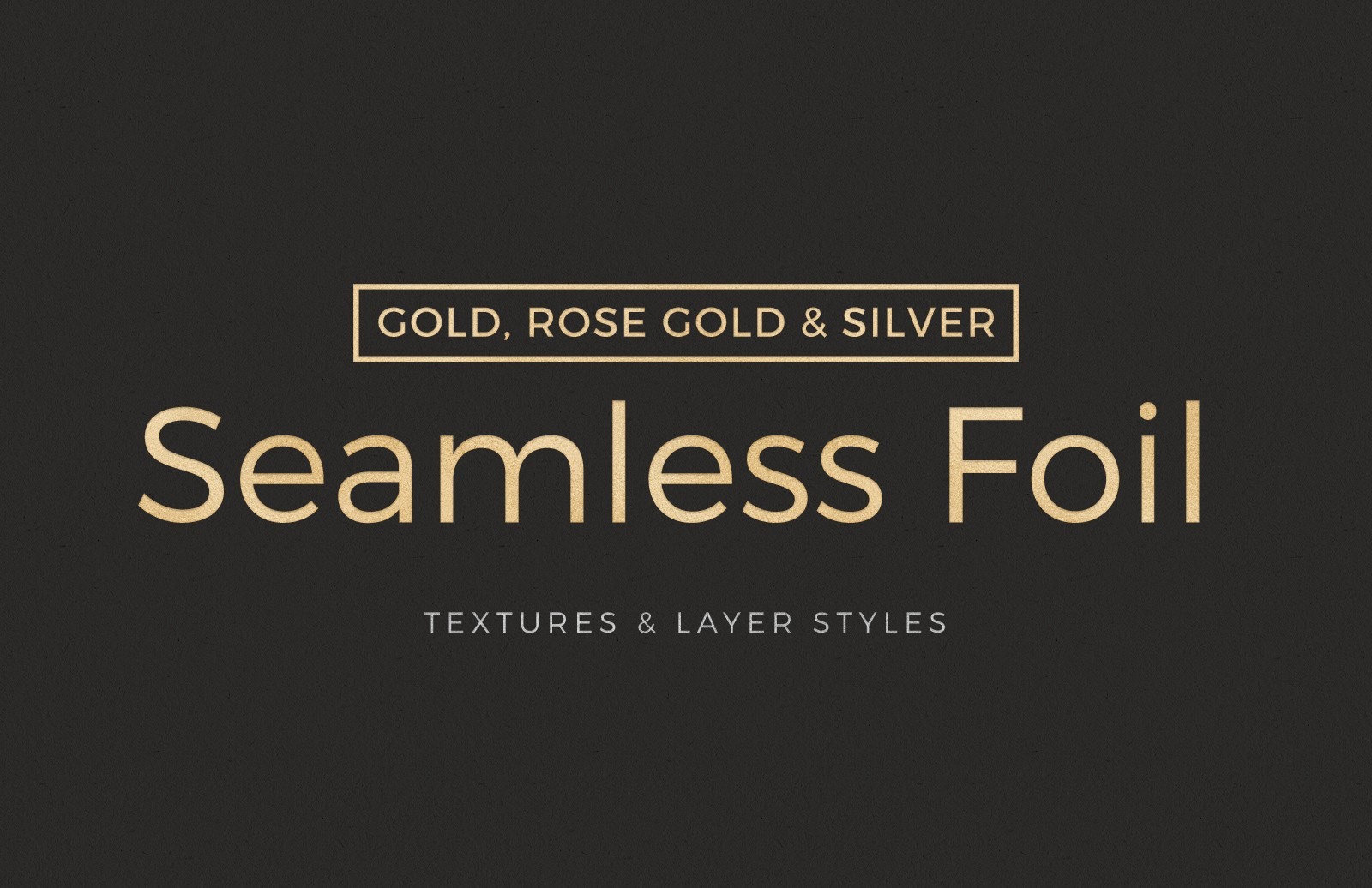 Seamless Foil Textures & Layer Styles 2