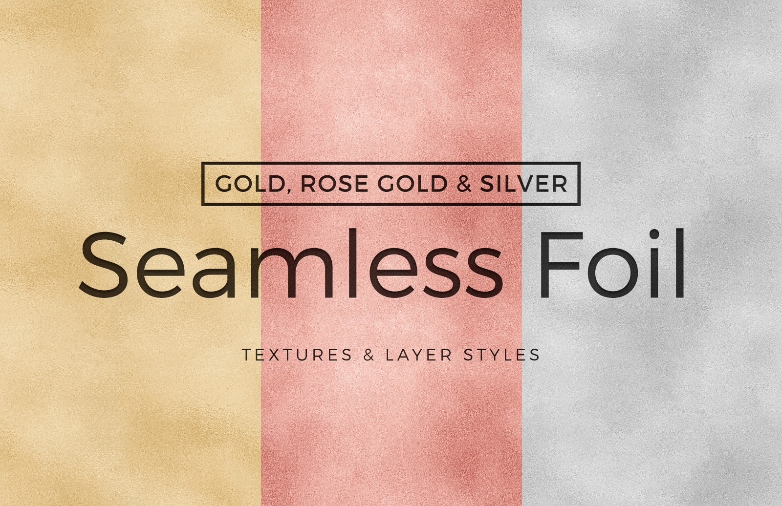 Seamless Foil Textures & Layer Styles