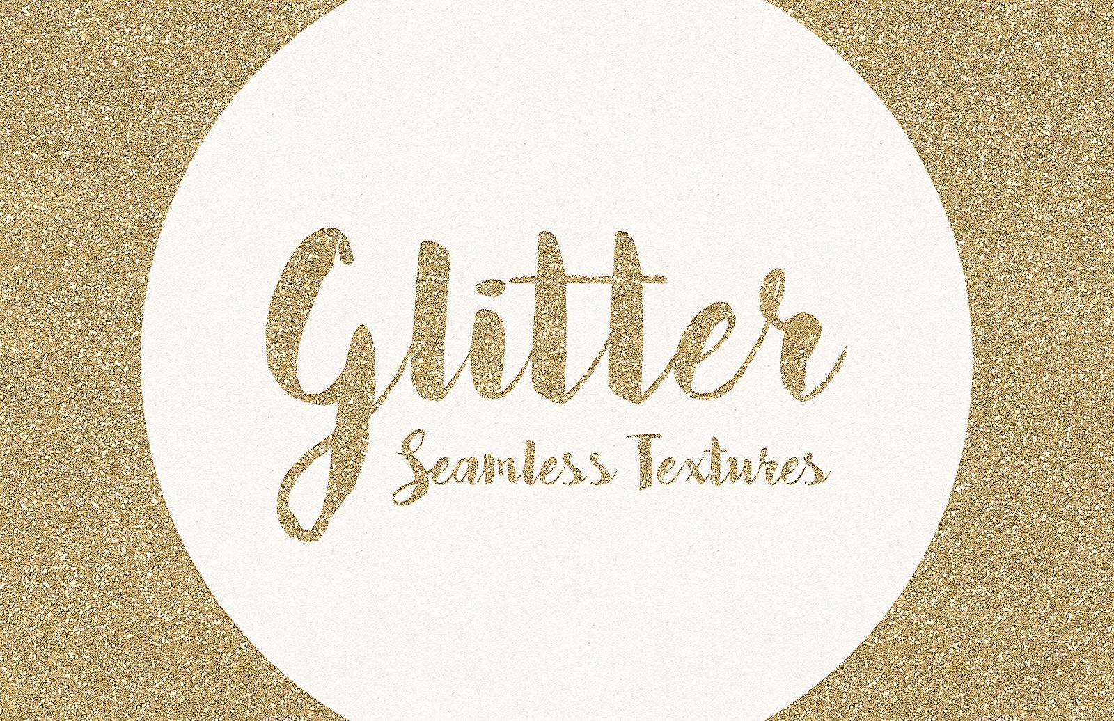 Seamless Glitter Textures