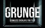 Seamless Grunge Text Overlays