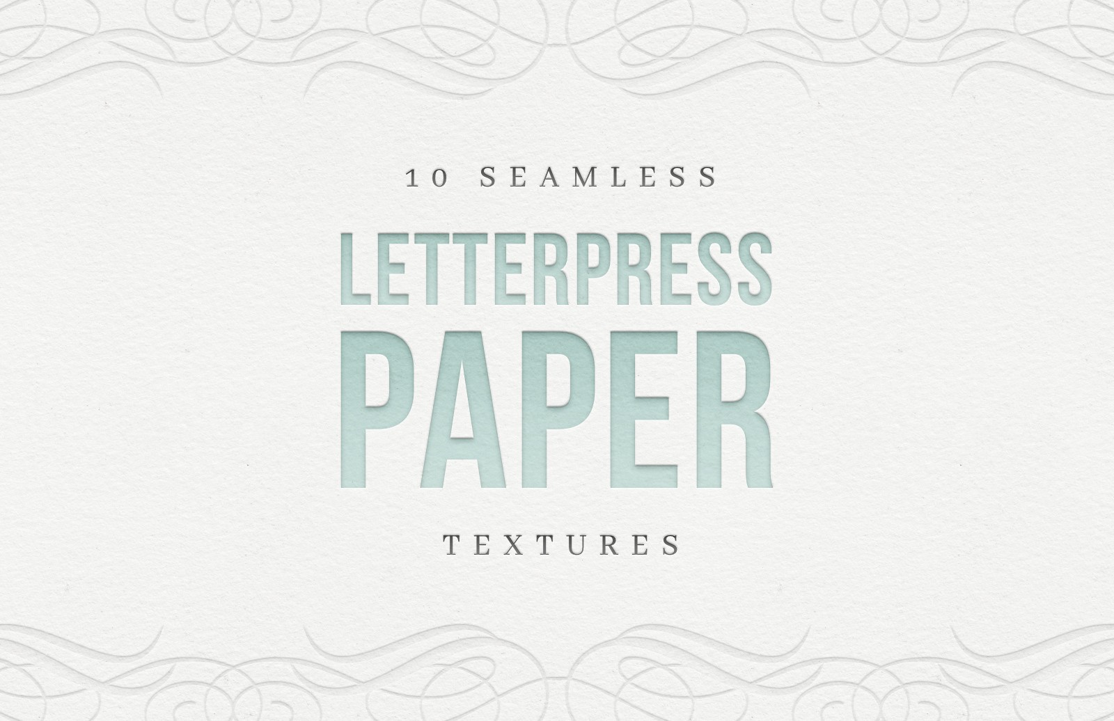 Free Seamless Letterpress Paper Textures