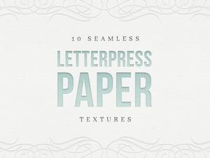Free Seamless Letterpress Paper Textures 1