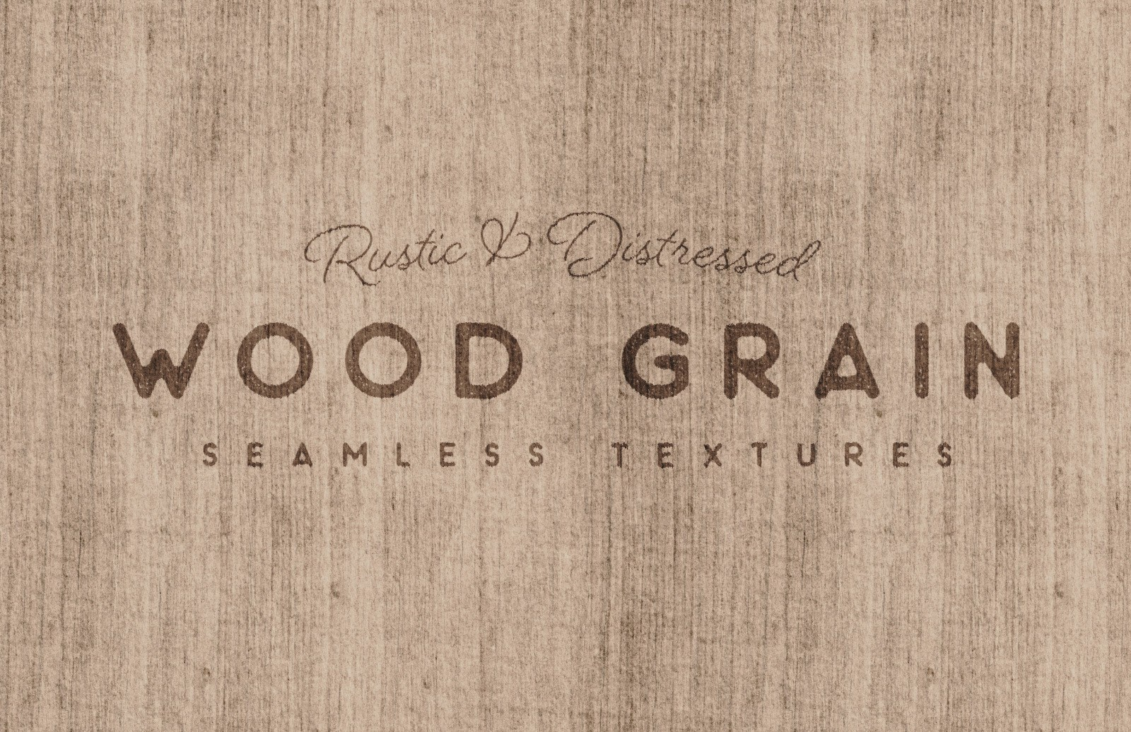 Seamless Rustic Wood Grain Textures Preview 2