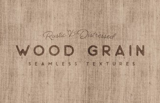 Free Seamless Rustic Wood Grain Textures