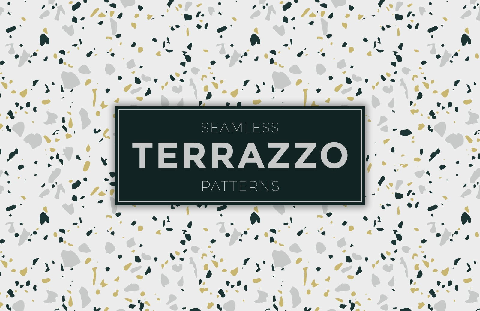 Seamless Terrazzo Patterns Preview 1