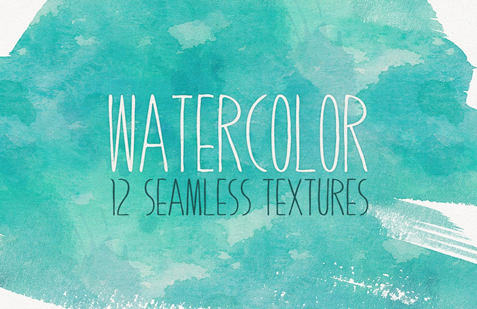 Seamless  Watercolor  Textures  Preview 1A