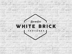 Seamless White Brick Textures 1