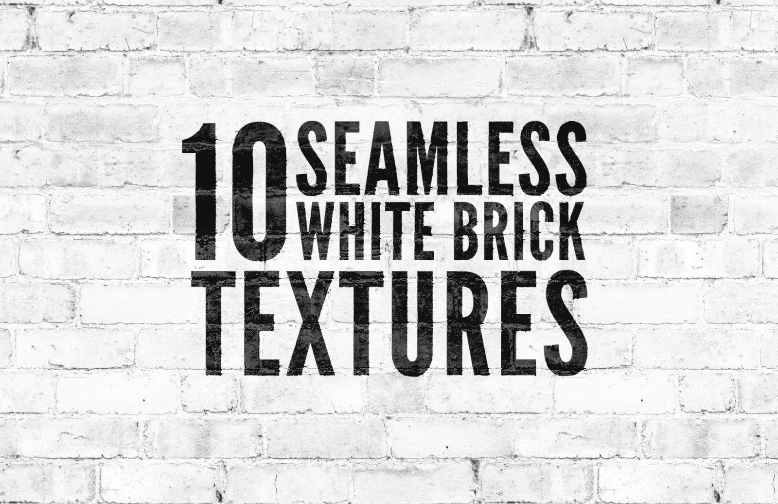 Seamless White Brick Wall Textures Preview 1