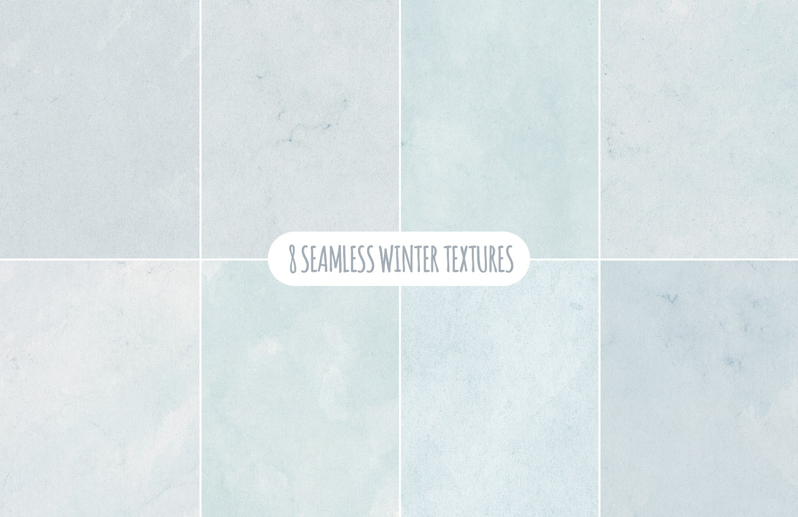 Seamless Winter Snowflake Backgrounds