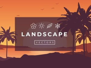 Seasonal Vector Landscapes 2