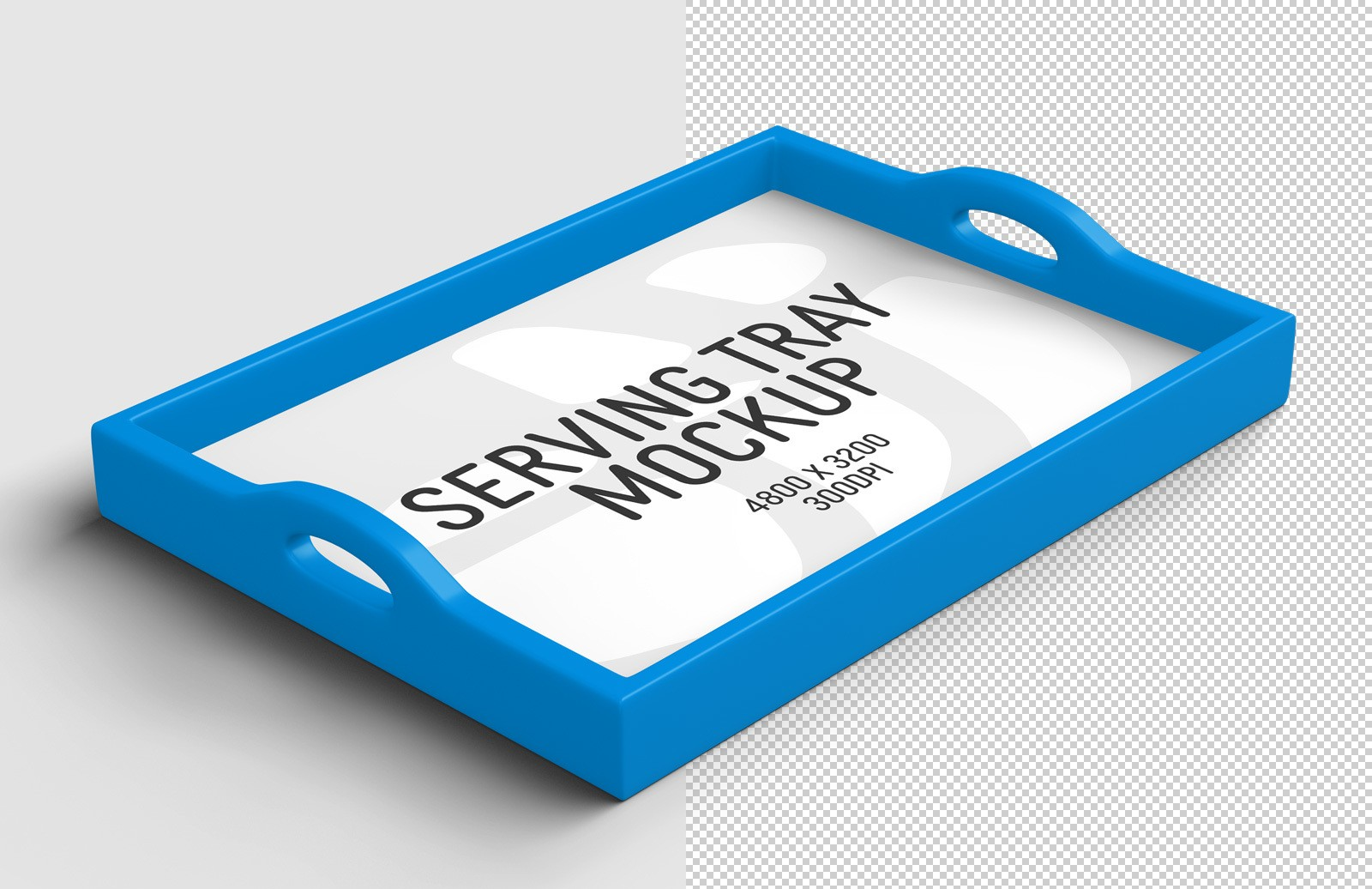 Serving Tray Mockup Preview 1