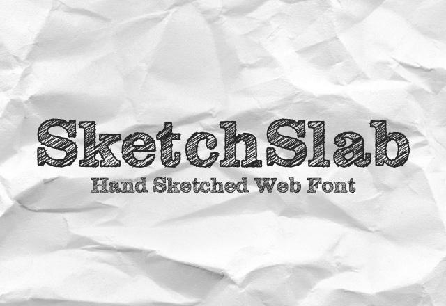 SketchSlab Webfont