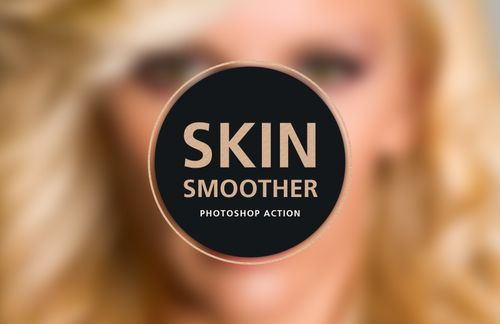 Skin Smoother Photoshop Action