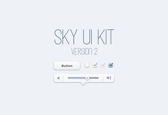 Sky UI Kit 2